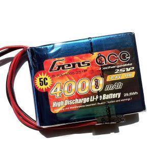 Gens ACE Batteria TX Lipo 2S 4000 mAh - EHR