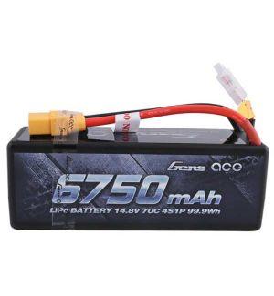 Gens ACE Batteria Lipo 4S 6750 mAh 70C - XT90 Hard Case