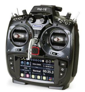 Graupner SJ MZ-16 HoTT Radiocomando 16CH