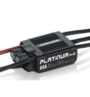 HobbyWing Variatore Platinum PRO 60A V4 SBEC