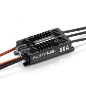 HobbyWing Variatore Platinum PRO 80A V4 SBEC
