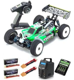 Kyosho Inferno MP9e EVO V2 1:8 RC Brushless EP Readyset Automodello Elettrico COMBO