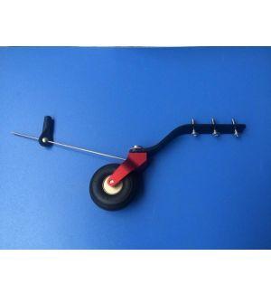 KUZA by Goldwing Carrello di coda V2 alluminio/carbonio per modelli 85-120CC