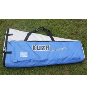 KUZA by Goldwing Sacca protezioni ali 150-220CC argento-blu