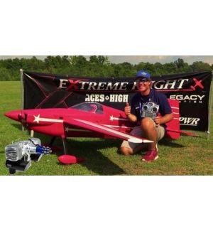 Extreme Flight Laser 200 Exp 104 ARF + DLE 130 Aeromodello acrobatico