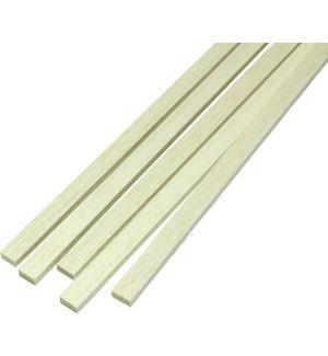 jWood Listello pino rettangolare 1x2x1000 mm