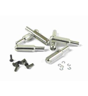 MP JET Forcella alluminio 23mm M2,5 - 2 pz