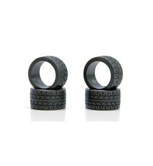 Kyosho Gomme Mini-Z radial 10 shore (4 pz) larghe - MZW38-10