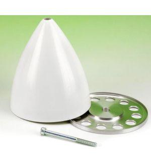TopmodelCZ Ogiva fibra di vetro/alluminio 90 mm - vite centrale