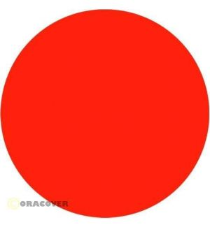 Oracover Oratrim arancio fluorescente 064 9,5 cm x 2 m