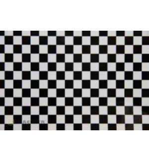 Oracover OraFUN4 bianco/nero 10-71 scacchi 12,5x12,5mm, 2 mt.