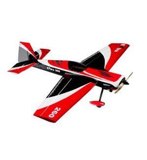 Precision Aerobatics Naca motore Extra 260 Rosso