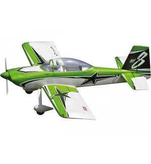 Premier Aircraft by Quique Somenzini RV-8 SUPER PNP + Giro AURA 8 Aeromodello acrobatico
