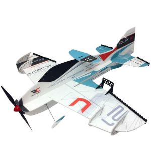 RC Factory Clik 21 Superlite BLU / 840 mm Aeromodello acrobatico