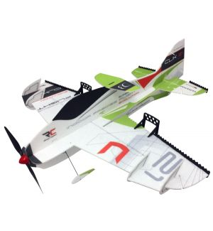 RC Factory Clik 21 Superlite VERDE / 840 mm Aeromodello acrobatico