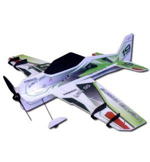 RC Factory Crack Yak 55 Superlite (verde) / 800mm Aeromodello acrobatico