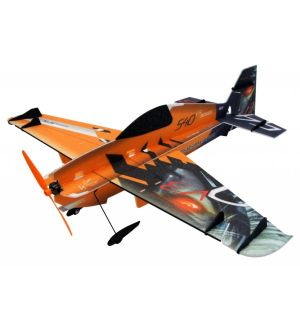 RC Factory RC Factory Edge 540 V3 Superlite Vector (arancione) / 840mm Aeromodello acrobatico