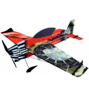 RC Factory Extra 330 Vector Superlite rosso / 840 mm Aeromodello acrobatico