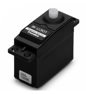 Futaba S-U301 HV (6,0-7,4V) - 4,3 (7,4V)-0,16 (7,4V) Servocomando standard