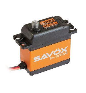 SAVOX SA-1231SG - 32,0 (6V)-0,14 (6V) Servocomando standard
