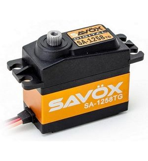 SAVOX SA-1258TG (4,8-6,0V) - 12,0 (6,0V)-0,08 (6,0V) Servocomando standard