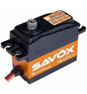 SAVOX SB-2270SG - 32,0 (7,4V)-0,12 (7,4V) Servocomando standard