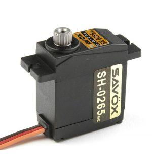SAVOX SH-0265MG - 2,4 (6,0V)-0,07 (6,0V) Servocomando micro