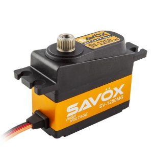 SAVOX SV-1250MG - 8,0 (7,4V)-0,09 (7,4V) Servocomando mini