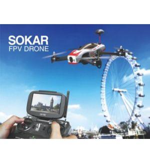 SkyRC Sokar FPV Race RTF + 2 FullPower 3S 2200 mAh GOLD