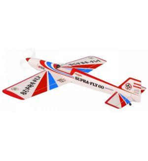Pichler Modellbau Supra Fly 60 (rosso-blu) / 1720 mm Aeromodello acrobatico