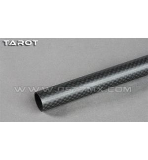 Tarot Tubo in carbonio 16mm opaco 323mm