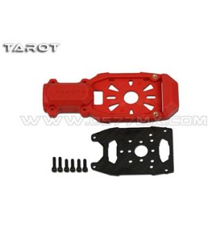 Tarot Supporto motore nylon e carbonio Φ16 mm rosso