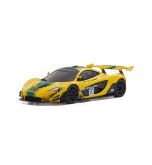 Kyosho ASC MR03W-MM McLaren P1 GTR Yellow/Green - MZP235YG