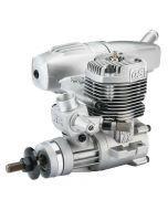 OS engines 46 AX II 7,5 cc c/silenziat. Motore a scoppio 2T glow per aerei