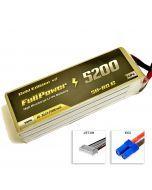 FullPower Batteria Lipo 6S 5200 mAh 50C Gold V2 - EC5