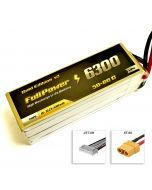 FullPower Batteria Lipo 6S 6300 mAh 50C Gold V2 - XT60