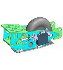 Multiplex Kit carrello retrattile Aliante Lentus
