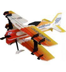 RC Factory Crack PITTS MINI Orange Aeromodello acrobatico indoor