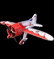 RC Factory Gee Bee Red/White (Backyard Series) Aeromodello acrobatico