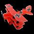RC Factory Lil Fokker Barone Rosso - Aeromodello acrobatico