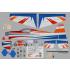 Phoenix Model Laser 260 70CC GP/EP ARF Aeromodello acrobatico