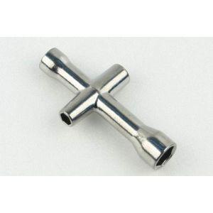aXes Tetrachiave corta 4, 5, 5,5, 7 mm