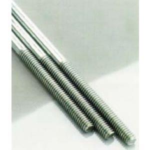 aXes Asta filettata acciaio inossidabile M2x300mm (4 pz)