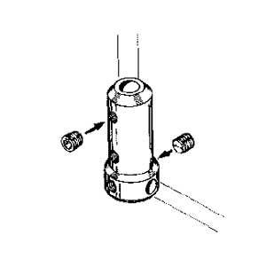 MP JET Angolo per gambe carrelli Ø 3 mm 1 pz