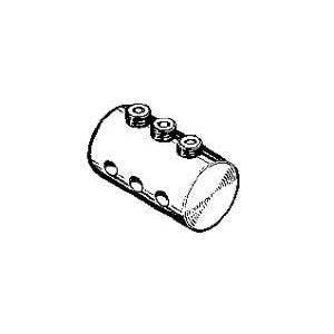 MP JET Connettore triplo per tiranteria da 3 mm