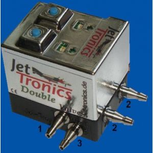 Jet-Tronics Valvola elettronica aria doppio effetto V2