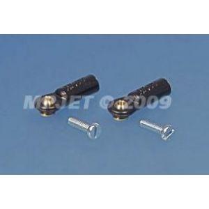 MP JET Uniball mini 2MA con vite 1,6 mm - tipo lungo - 6 pz