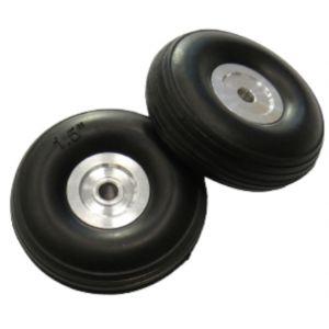 aXes Ruote in poliuretano 38mm mozzo alluminio (2 pz)
