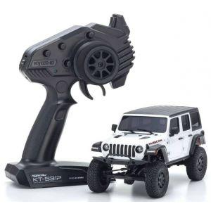 Kyosho Mini-Z 4X4 MX-01 Jeep Wrangler Rubicon Bright White (KT531P)