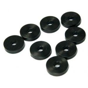 Secraft Rondelle in gomma 4x14mm - 8pz